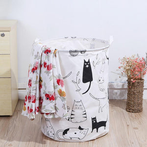 Funky Printed Laundry Basket