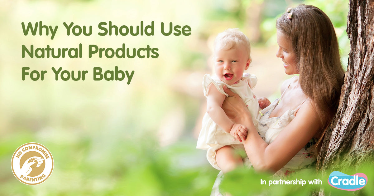 Why Using Natural Products Are Important for Babies