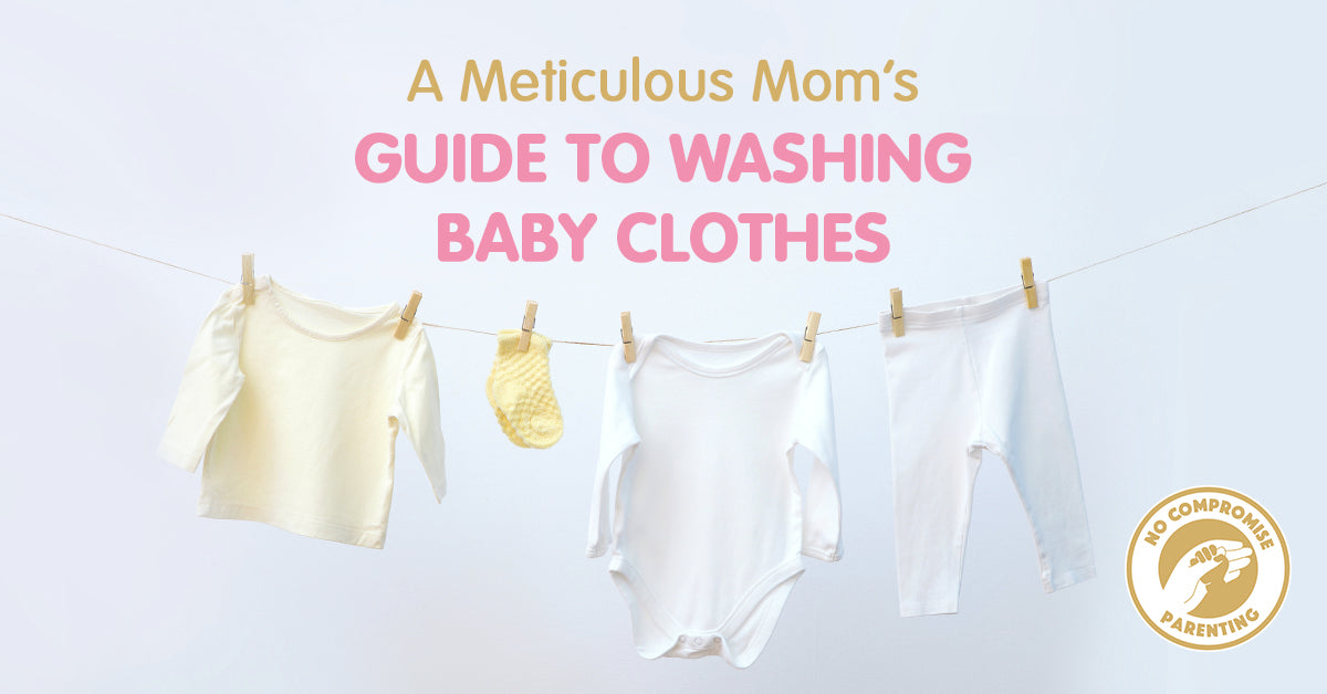A Meticulous Mom's Guide to Washing Baby Clothes