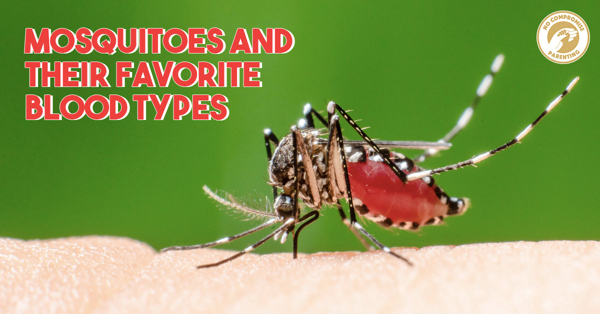 Yes, Mosquitoes Play Blood Type Favorites