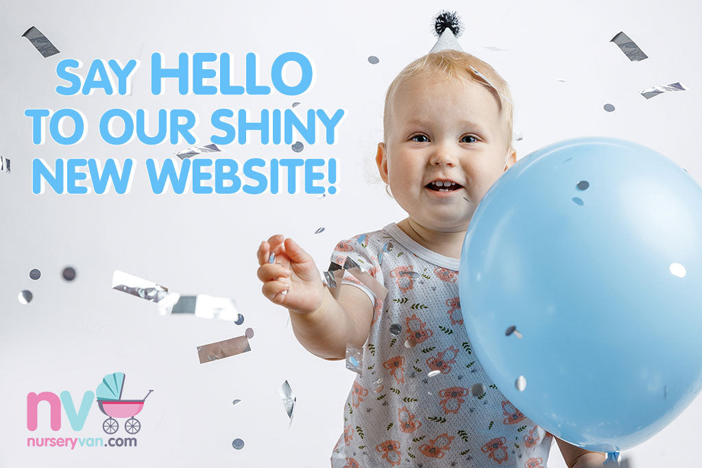 Say Hello to our Shiny New Website