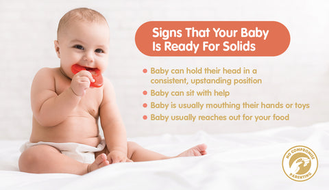 Signs That Your Baby is Ready for Solid Food