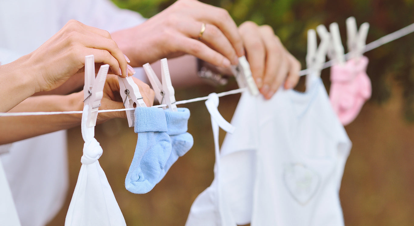 Natural Disinfectant for your baby's clothes