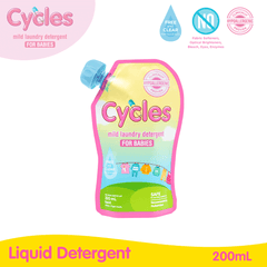 Cycles Mild Laundry Detergent 200ml