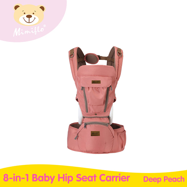 Mimiflo 8-in-1 Baby Hip Seat Carrier