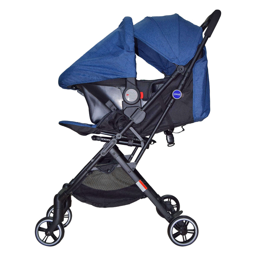 Enfant stroller with car seat