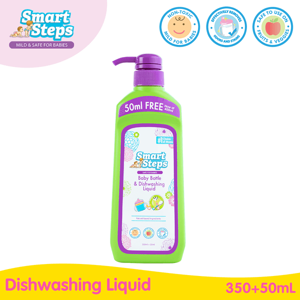 Smart Steps Baby Bottle and Dishwashing Liquid 400ml Bottle