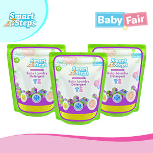 Smart Steps Baby Powder Detergent 900g Set of 3