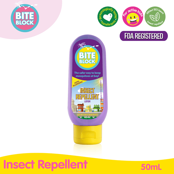 Bite Block Daily Insect Repellent 50mL Lotion