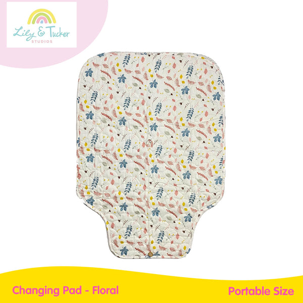 Lily And Tucker Changing Pad - Floral