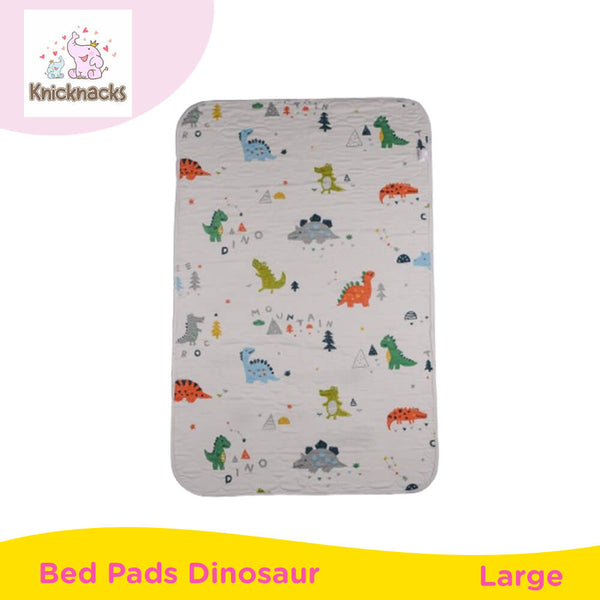 Knicknacks Waterproof Bed Pads Large