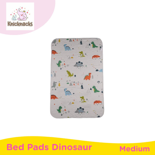 Knicknacks Waterproof Bed Pads Medium