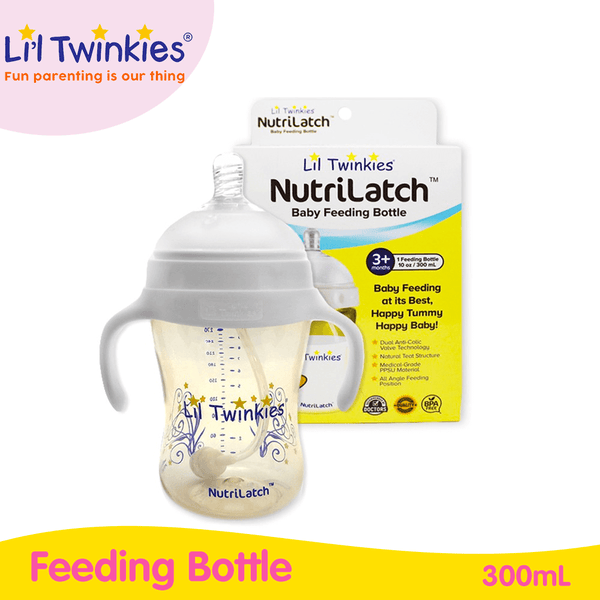 Li'l Twinkies NutriLatch PPSU Feeding Bottle