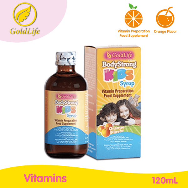 GoldLife Body Strong Children's Multivitamins Syrup 120mL