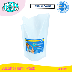 Holy Hands Alcohol Refill Pack 500mL