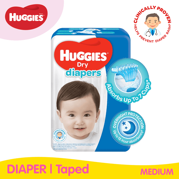 Huggies Dry Taped