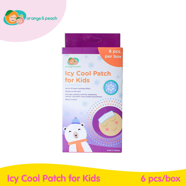 Orange & Peach Icy Cool Patch for Kids