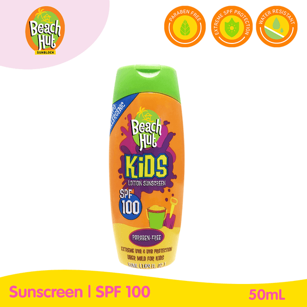 Beach Hut Kids Max SPF100 Sunblock 50ml