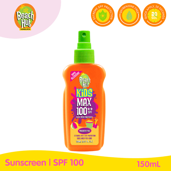 Beach Hut Kids Max 100++ Spray 150ml