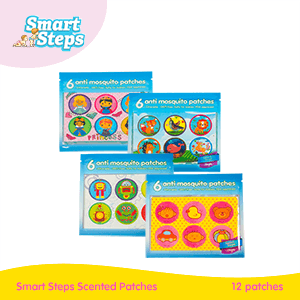 Smart Steps Stages Scented Patches 12's (Box-free) - Choose your design!