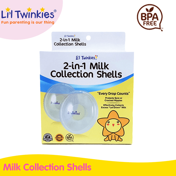 Li'l Twinkies 2-in-1 Milk Collection Shells