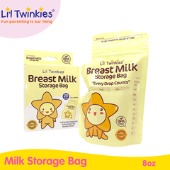 Li'l Twinkies Breast Milk Storage Bag 20s 8oz