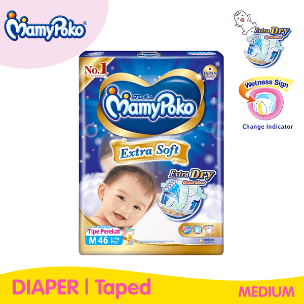 Mamypoko Extra Soft Taped