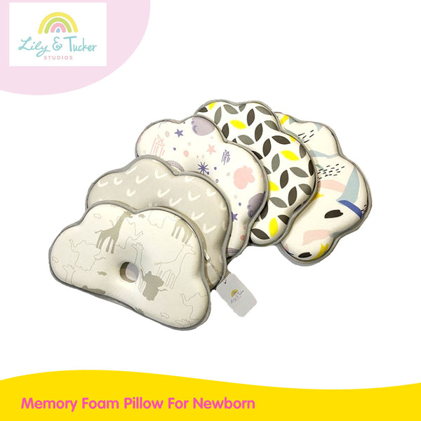Lily And Tucker Memory Foam Pillow For Newborn