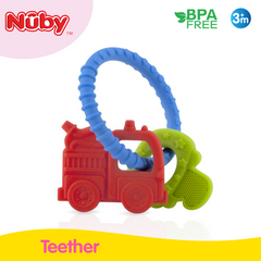 Nuby 1PK Chewy Charms Silicone Wristband
