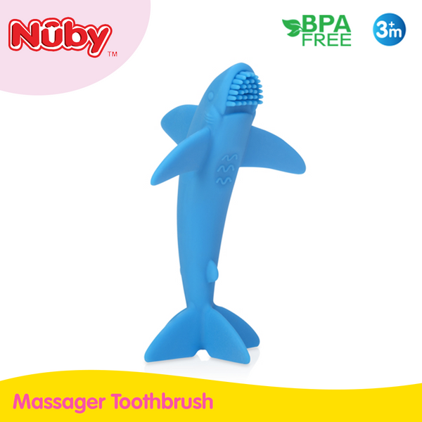 Nuby Shark Massager Toothbrush