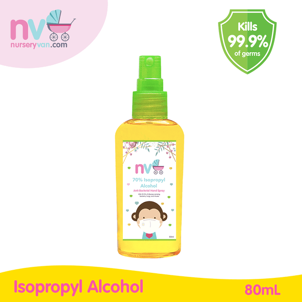 Nursery Van Alcohol Spray 80ml