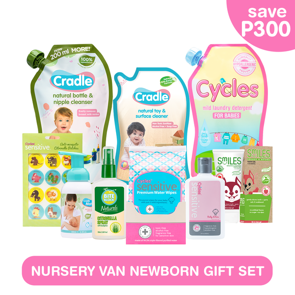 Nursery Van Newborn Gift Set 1