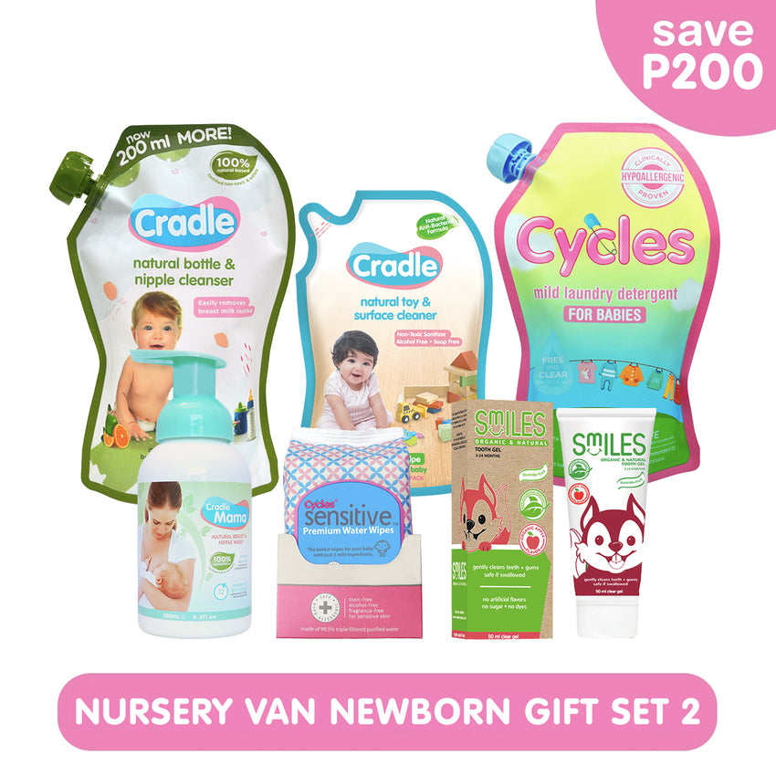 Nursery Van Newborn Gift Set 2