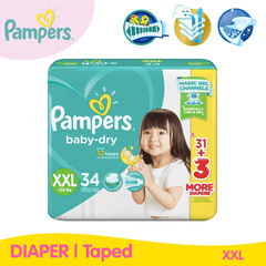 Pampers Baby Dry Taped