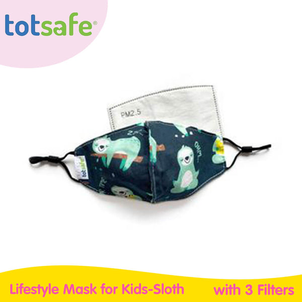 Totsafe Lifestyle Mask for Kids (with 3 filters included)