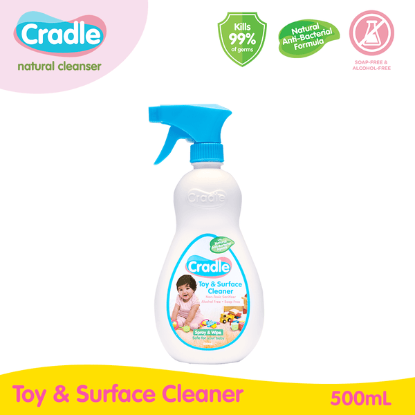 Cradle Natural Toy & Surface Cleaner 500ml