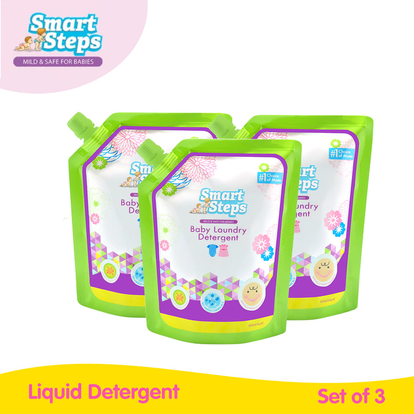 Buy 3 Smart Steps 900 ml Liquid Detergent
