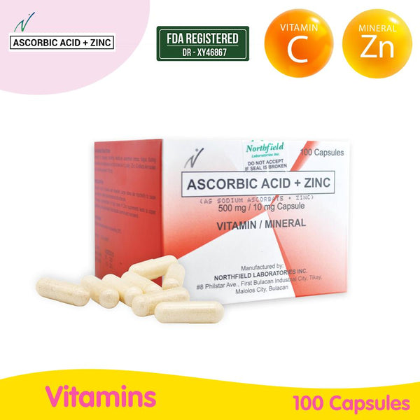 Vitamin C (Ascorbic Acid) with Zinc