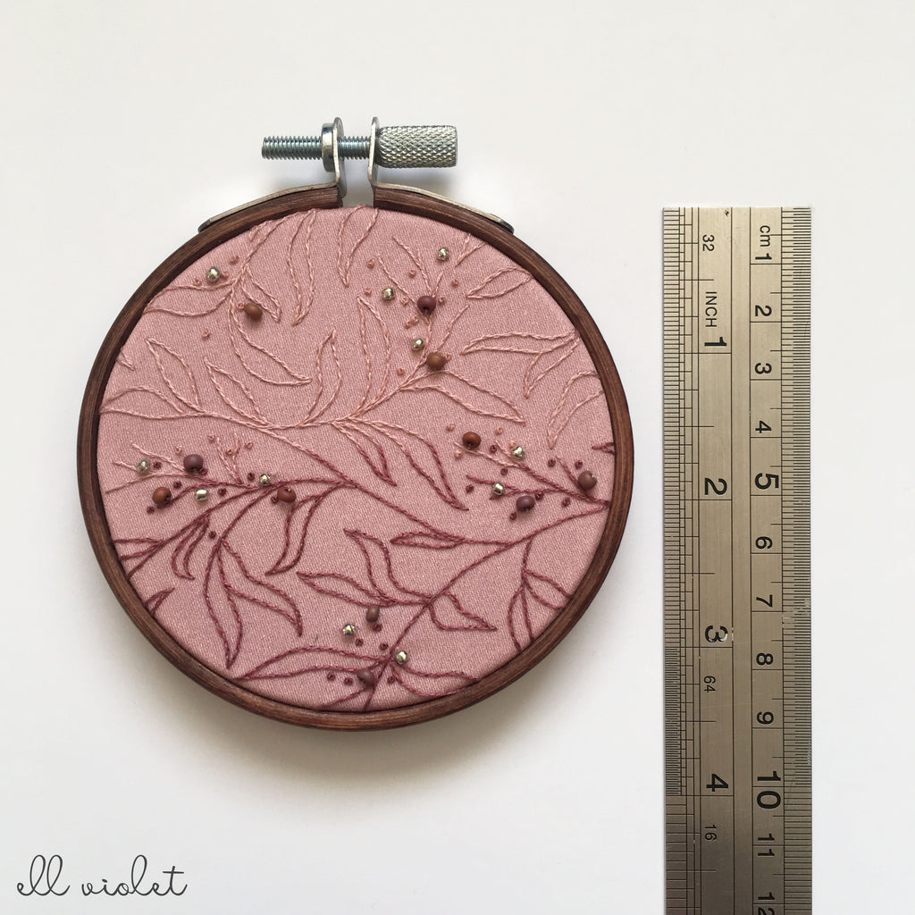 Mini Blush Thicket Wall Hanging (Pre-Order)