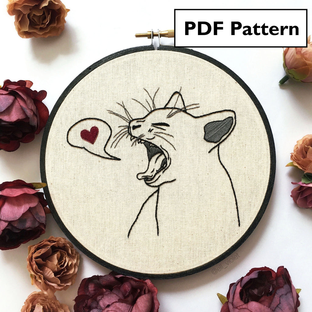 Cat Pattern Bundle - Digital Download