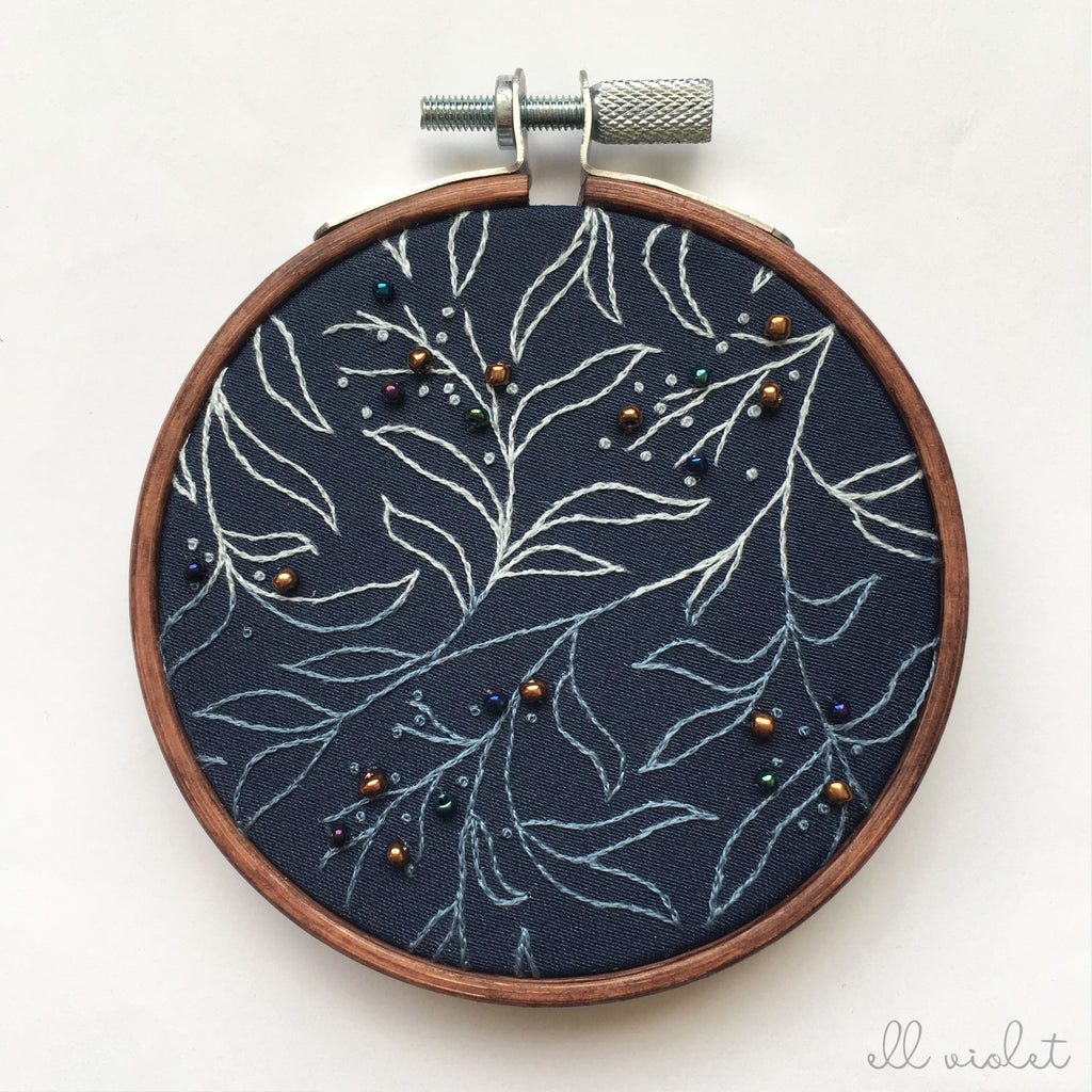 Mini Dark Blue Thicket Wall Hanging (Pre-Order)
