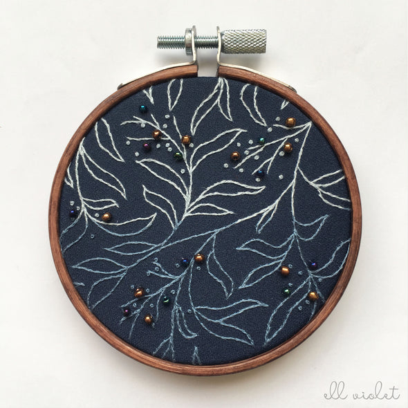 Mini Dark Blue Thicket