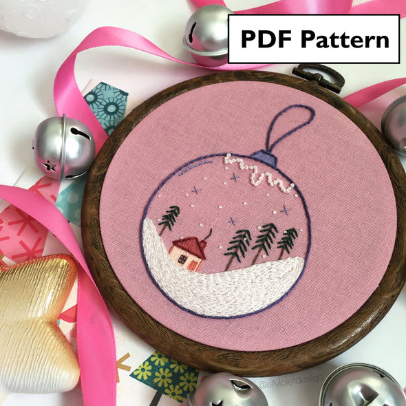 Winter Bauble Pattern - Digital Download