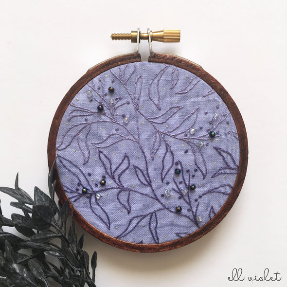 Mini Violet Thicket II