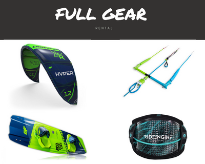 Kiteboarding Gear Rental