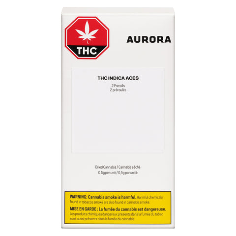 AURORA ACES THC (IND) PRE-ROLL - 0.5G X 2