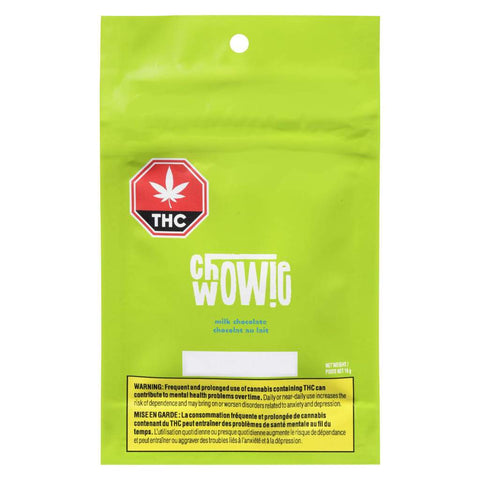 CHOWIE WOWIE MILK CHOCOLATE (H) CHOC - 5MG THC X 2