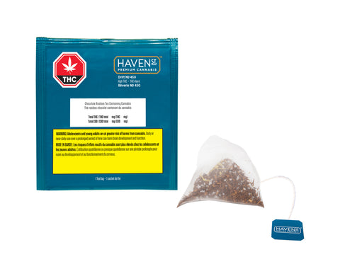 HAVEN ST NO 450 DRIFT 2:1 (H) TEA BAG - 10MG THC:5MG CBD X 1