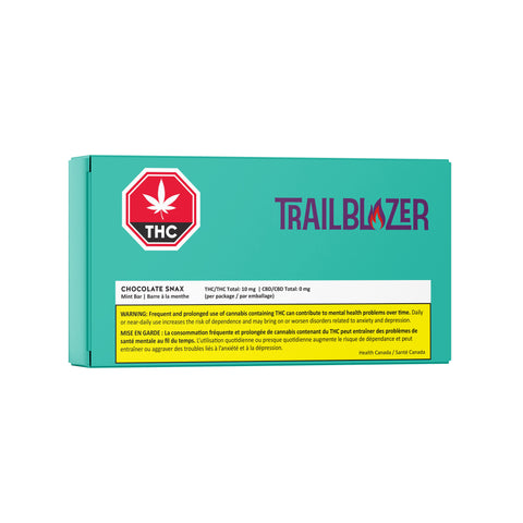 TRAILBLAZER SNAX MINT MILK CHOC (H) CHOC - 2MG THC X 5