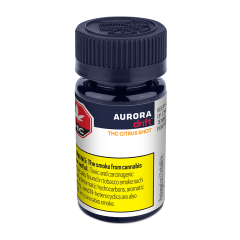 AURORA DRIFT THC CITRUS SHOT (H) BEV - 10MG THC X 45ML